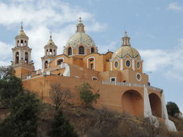 The church on top of the hill in Cholula. , Kevin F - May 2013