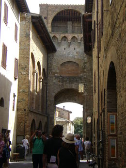 san gimignano entrance , Lisa H - June 2015
