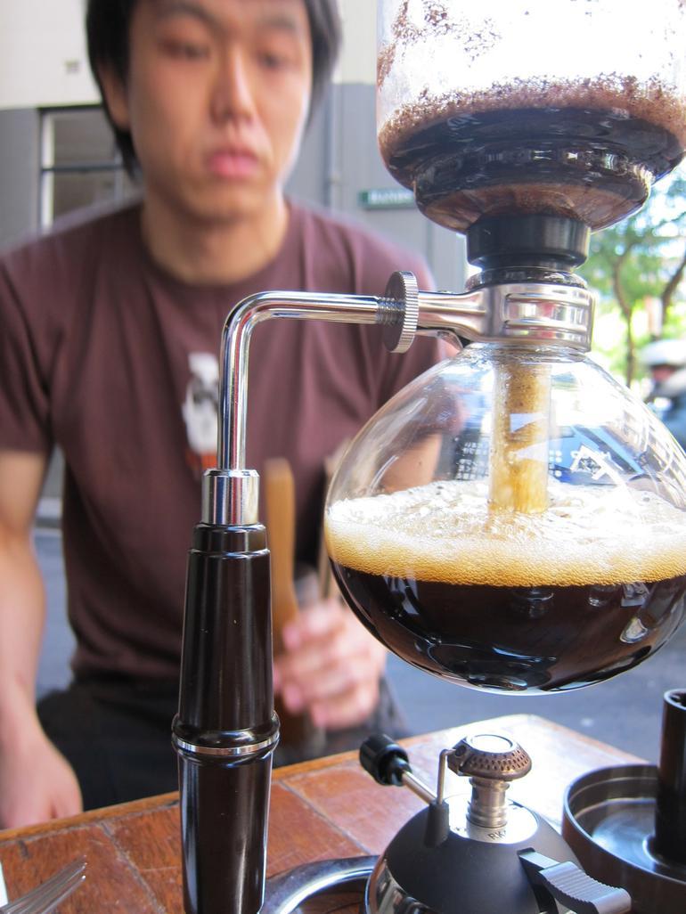 Fancy Parisian mid 1800's coffee method. -