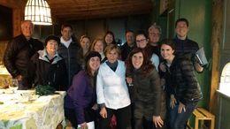 Just ready to leave after a fab day cooking in the Tuscan hills. , Forrest - February 2015
