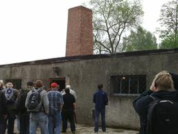 THIS IS THE GAS CHAMBER AT AUSCHWITZ, Kim L - May 2010