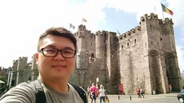 The Gravensteen castle , Toh C - July 2016