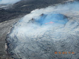 Kilauea Crater Aug 2012 Paradise Tours - Helicopter with doors off , Steven M - August 2012