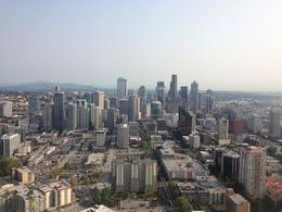 My picture from the Space Needle--one of the stop on our tour. , BRENDA H - October 2012