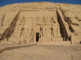 Abu Simbel. We were the first people at the temple. Inside the temples are fantastic! No photos allowed. , Ronald M - September 2011