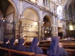 Inside the church, Blain V - July 2010