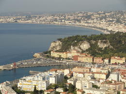 View across Nice , DJF T - August 2012