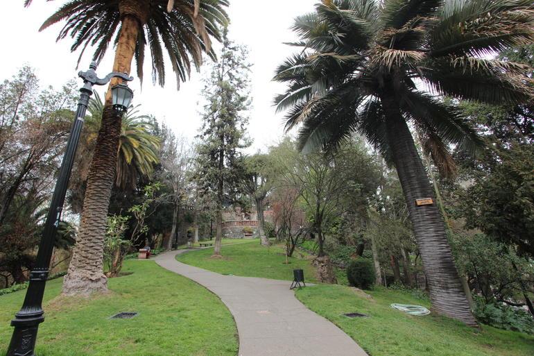 Santa Lucia Hill - Santiago