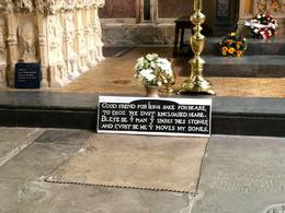 We skipped lunch to see run and see Shakespeare's grave after Shakespeare's birthplace and it was totally worth it! , Emily T - May 2014
