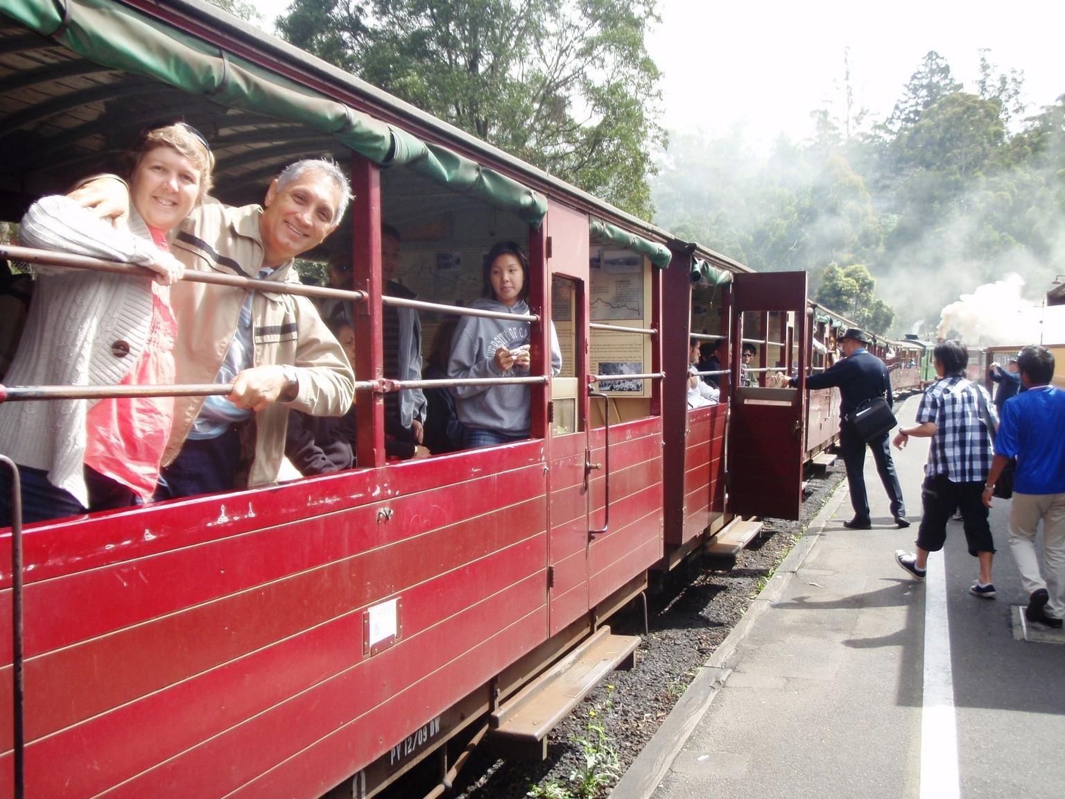 MÁS FOTOS, Recorrido en tren de vapor Puffing Billy y por la reserva de Healesville con salida desde Melbourne