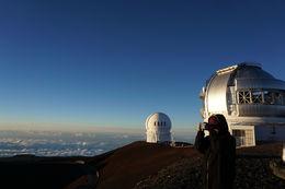Telescopes at Mauna Kea Summit , Andy L - August 2016