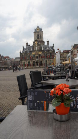 town square in delft , Guada Lalaine C - June 2014