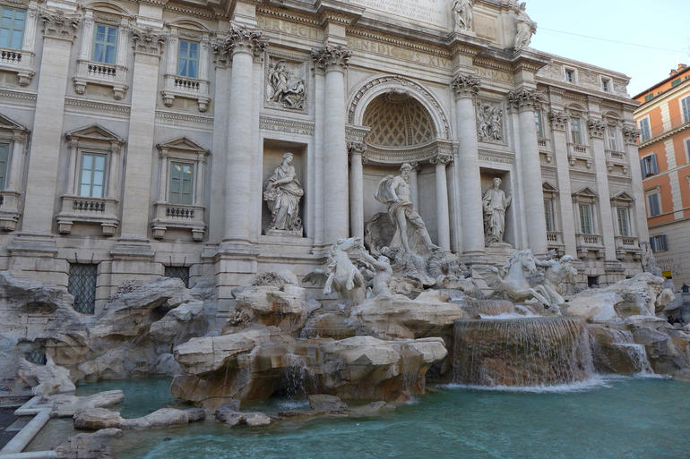 Trevie Fountain - Rome