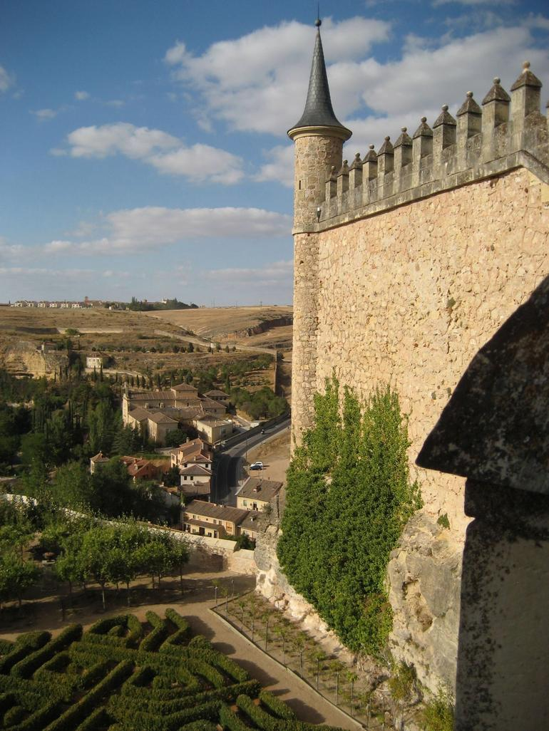 View from Segovia Alcazar - Madrid