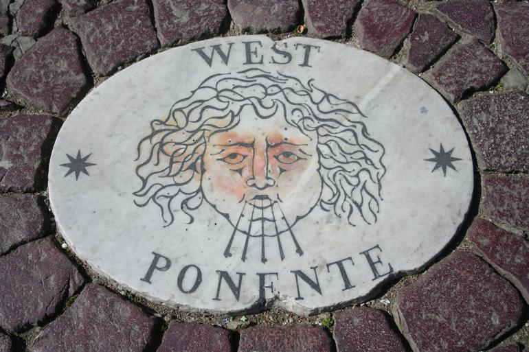 West ponente at S.Peters square - Rome