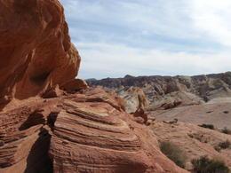 Climbing the rocks , Vanessa B - March 2012