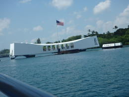 Arizona Memorial from the tender. , Shelia M - March 2017