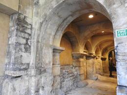 Original stonework at Roman Baths , Nana - May 2017
