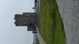 Tower at the top of the right hand side of the Cliffs of Moher. , Dawn C - September 2017