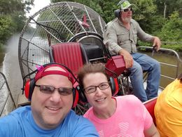 The air-boat trip is great! Our guide Gary was the best! Mike and Monti McCauley -Memphis TN , Monti M - July 2016