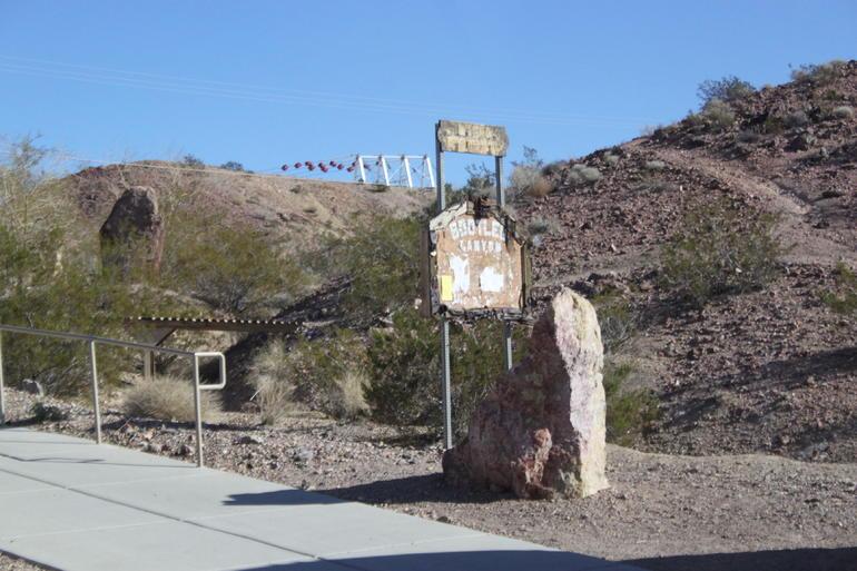 At the zipline - Las Vegas