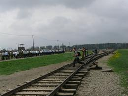 the railtrack at birkenau, Kim L - May 2010
