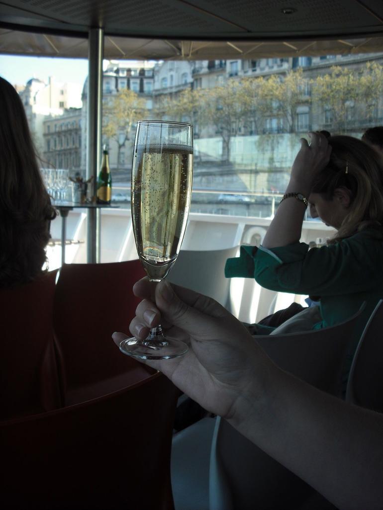 Bubbles on the Seine River - Paris