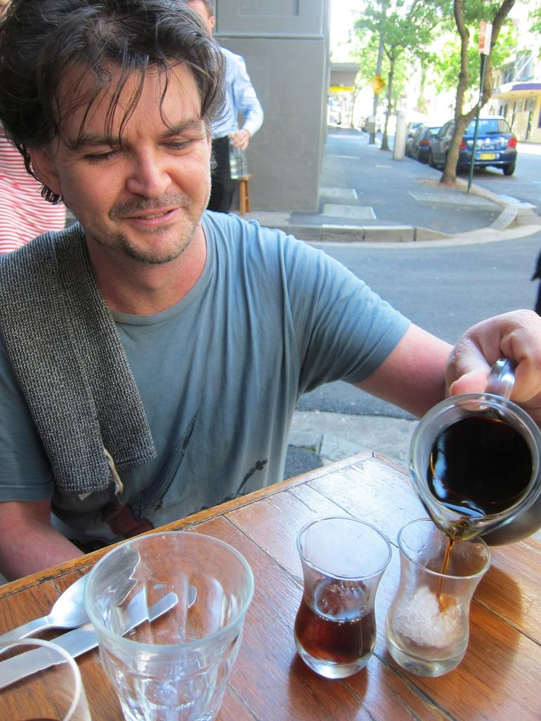 Cold drip coffee - it takes 12 hours to half fill a beaker! -