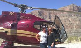 Deb and Caryn in the Grand Canyon. , Deborah P - April 2013