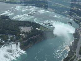 survol des chutes américaines et françaises , FERNAND C - September 2013