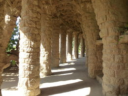Arches to walk under throughout the park, nice shade on a hot day , Vanessa W - August 2015