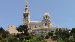 The church is on top of the hill and the bus goes through some very steep narrow streets to get there. , Lidia - July 2014
