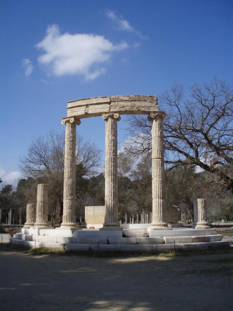 Olympia - The Philippaeum - Athens