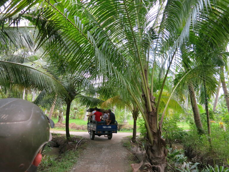 On the Jeep - Ho Chi Minh City