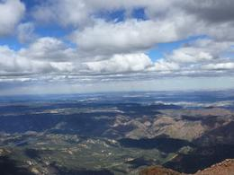 view from the top of pike's peak! , Xiaoli Z - September 2016