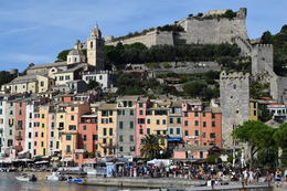 First stop on the Cinque Terre boat tour , Jennifer G - October 2014