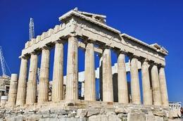 The Parthenon. Oh how magnificent this must have once looked. 9 years to build with a further 6 years finishing off the sculptures and painting. , Paul K Phillips - October 2012