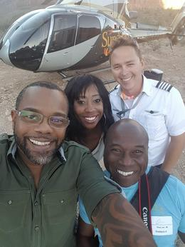 Us with our pilot, Anders. He was so informative and kept us entertained the entire time!, jacobbradleypalmer - October 2016