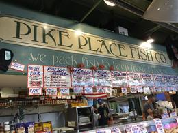 Pike's Fish Market. , Kimberly L - August 2017