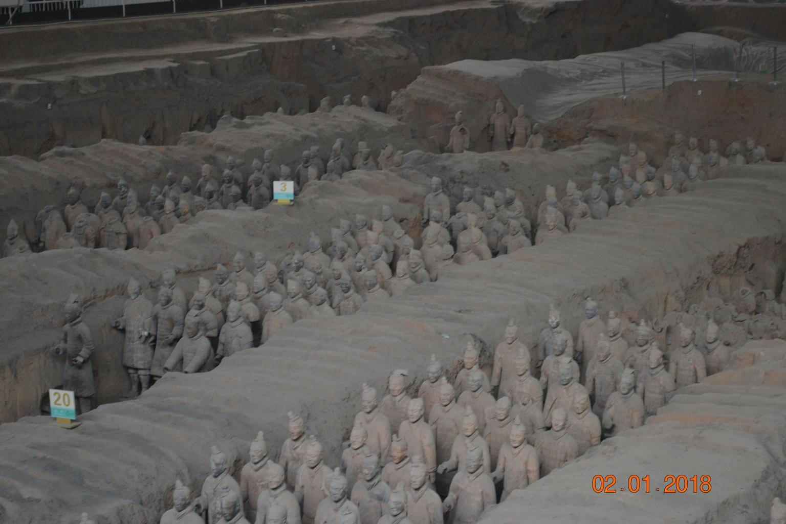 MÁS FOTOS, Recorrido de un día en autobús a Xi'an para visitar el ejército de terracota