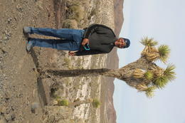 Me in front of a 400 year old Joshua tree , Ra-Shamel S - January 2018