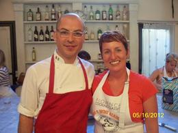 Chef Giovanni and Lynn , Helen D - May 2012