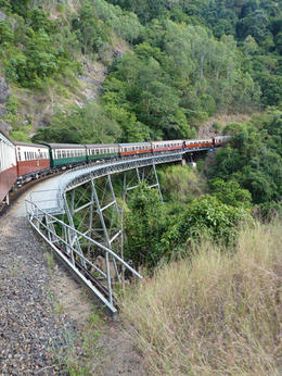 Heritage train to Kuranda , Linda B - August 2012