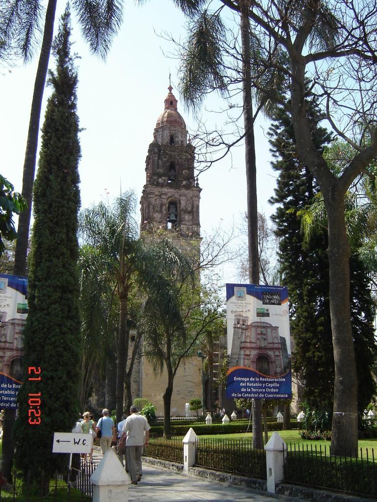 Cathedral in Cuernavaca - Mexico City