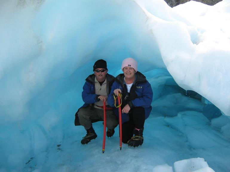 Cool Blue - Franz Josef & Fox Glacier