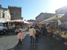 The local village markets amongst the winding streets. , Barb B - November 2012