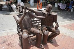 Saw a whole series of statues like these scattered around the old town. , Harvie Hopkins - September 2016