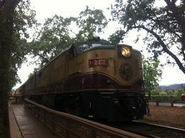 All aboard!, Kierra - August 2014