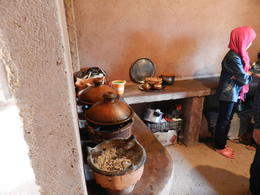 Berber girl cooking your Tagines. , RICHARD W - April 2014