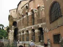 Used for plays & concerts, this building was what the Roman Coloseum was modelled after. (the ruins of the Theater of Marcellus., Sherry D - August 2010